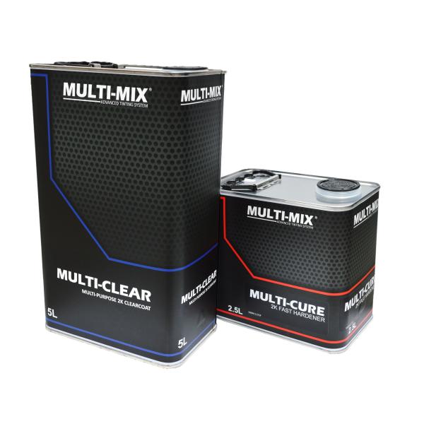 MULTIMIX MULTI CLEAR 2K CLEARCOAT KIT
